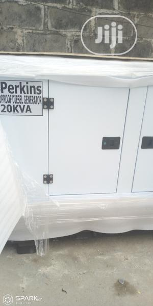 20KVA Perkins Soundproof Diesel Generator | Electrical Equipment for sale in Lagos State, Magodo