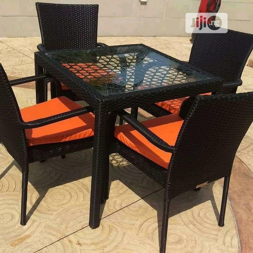 Outdoor Chair and Table