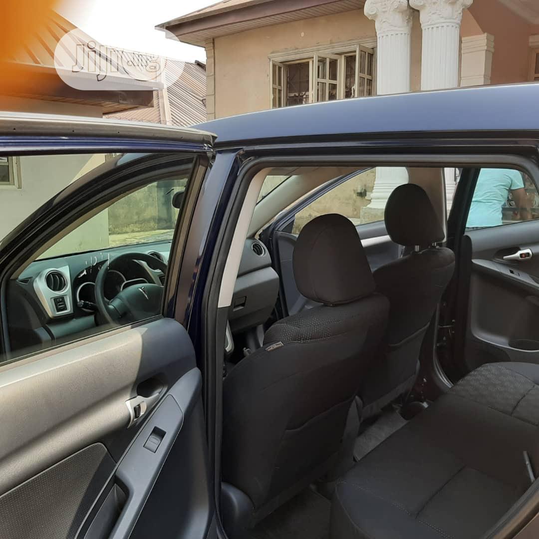Pontiac Vibe 2009 2.4L Blue | Cars for sale in Ikeja, Lagos State, Nigeria
