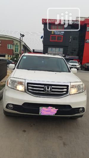 Honda Pilot 2013 White   Cars for sale in Lagos State, Lekki