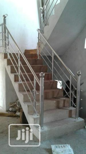 Rot Iron And Stainless Handrails | Building Materials for sale in Enugu State, Enugu