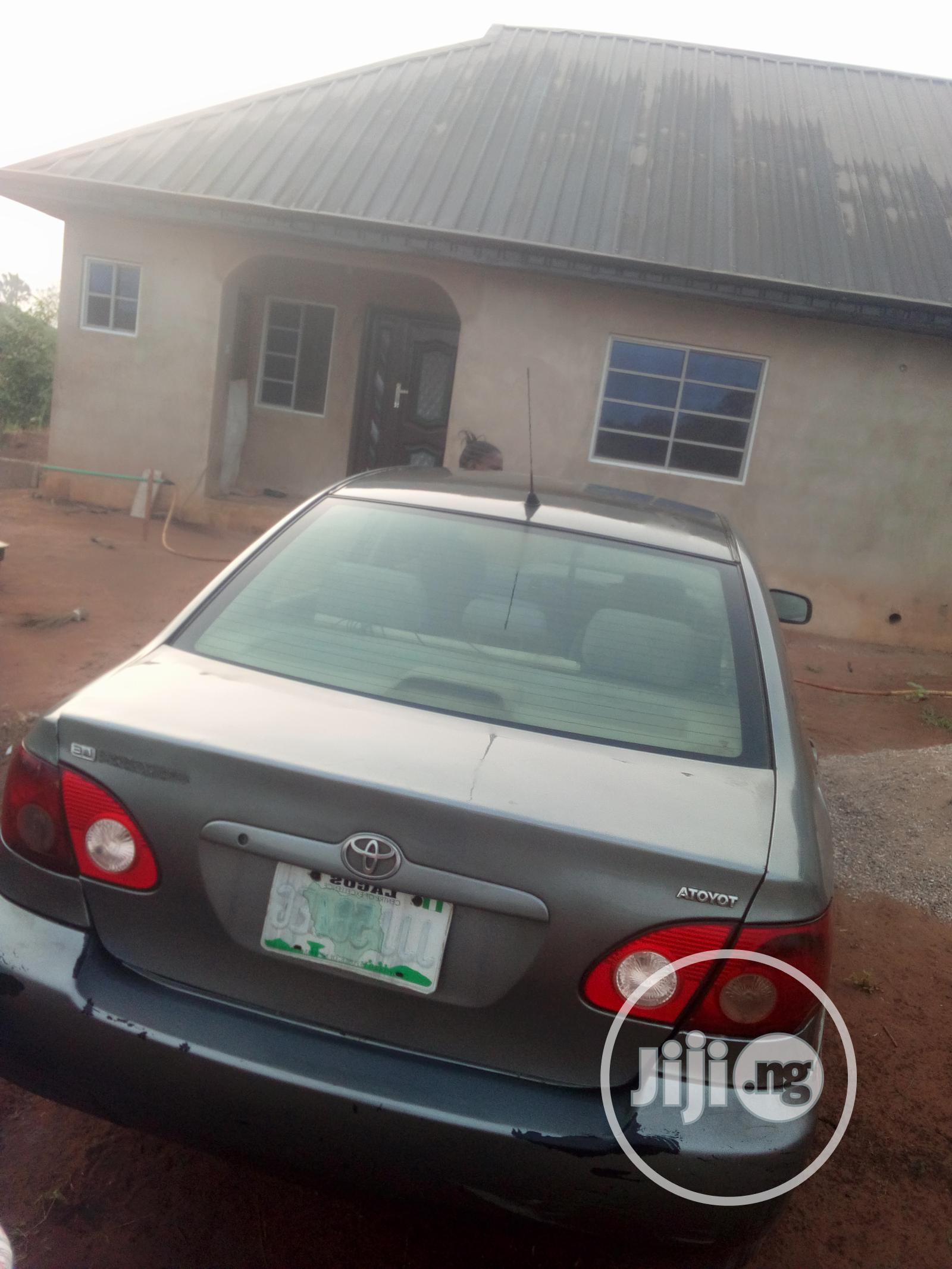 Toyota Corolla 2006 LE Gray | Cars for sale in Ewekoro, Ogun State, Nigeria