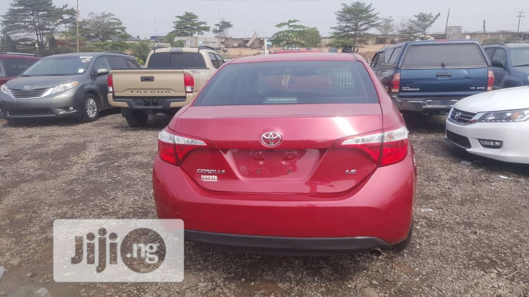 Toyota Corolla 2015 Red | Cars for sale in Ojodu, Lagos State, Nigeria