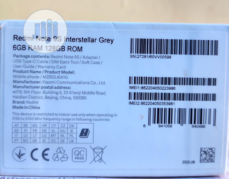 New Xiaomi Redmi Note 9S 128 GB Gray