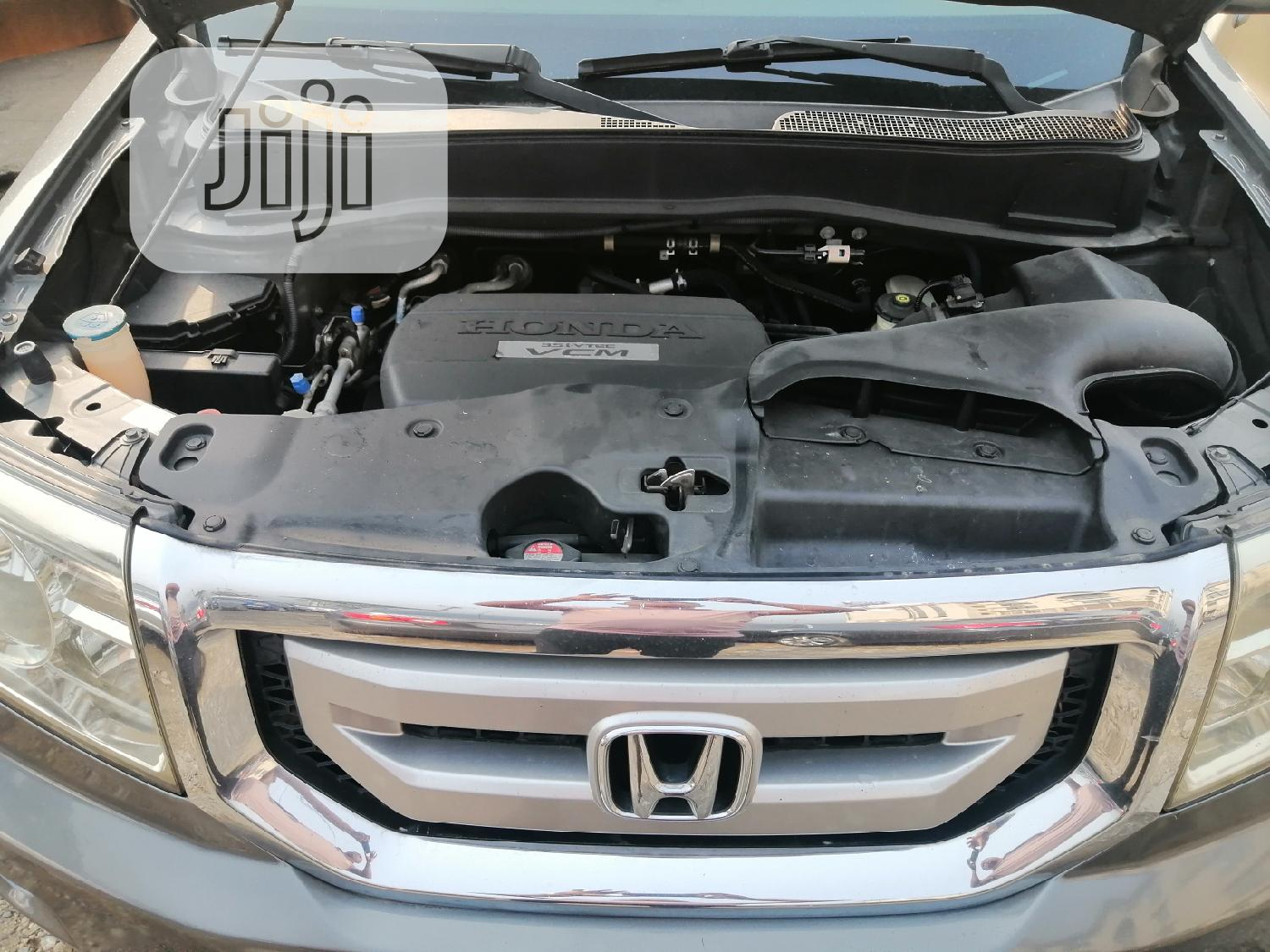 Honda Pilot 2009 Gray   Cars for sale in Port-Harcourt, Rivers State, Nigeria