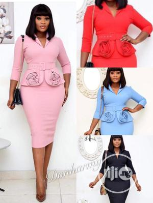 Trendy Ladies Quality Fitted Gown | Clothing for sale in Lagos State, Ikeja
