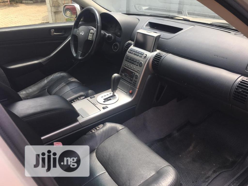 Infiniti G35 2004 Base W/Leather Sedan Silver   Cars for sale in Isolo, Lagos State, Nigeria