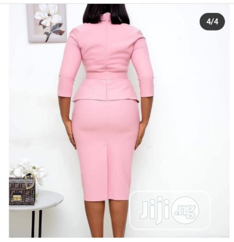 Trendy Ladies Quality Fitted Gown | Clothing for sale in Ikeja, Lagos State, Nigeria