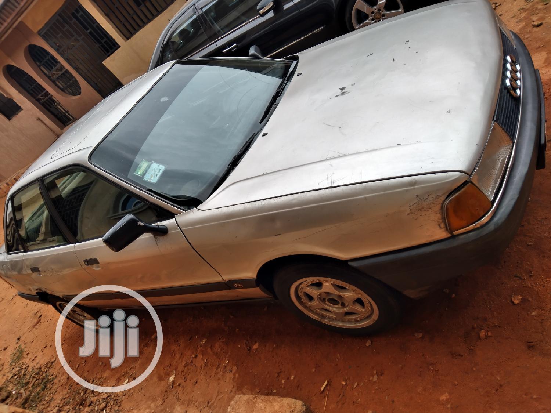 Archive: Audi 80 1989 1.9 D Gray