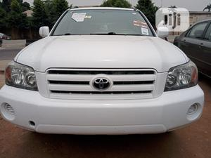 Toyota Highlander 2006 Limited V6 4x4 White | Cars for sale in Lagos State, Ogba