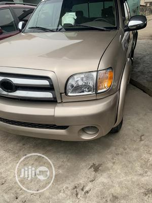 Toyota Tundra 2003 Automatic Gold | Cars for sale in Lagos State, Isolo