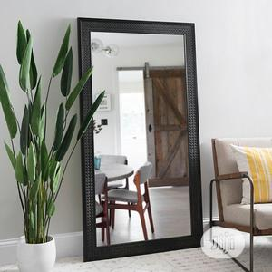 Quality Mirror With Black Frame | Home Accessories for sale in Lagos State, Lagos Island (Eko)