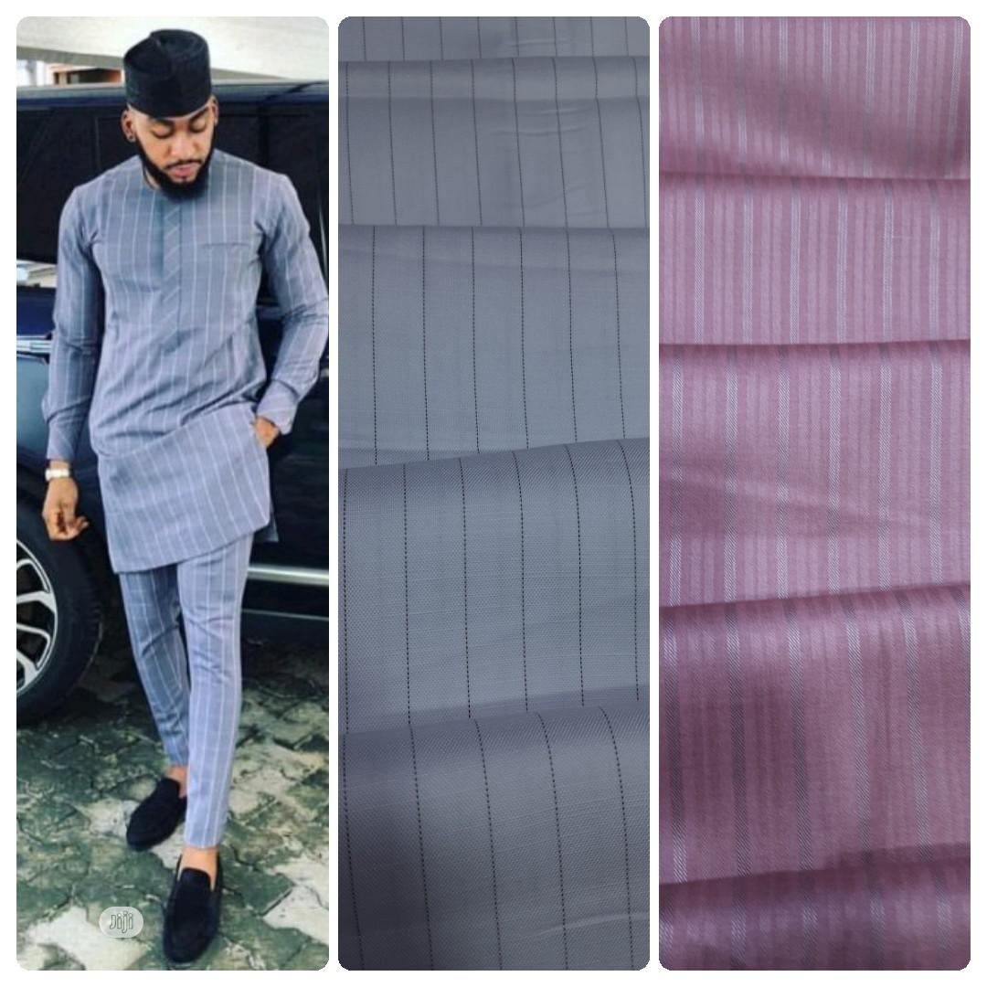 4 Yards Senator Material 1 | Clothing for sale in Lagos Island (Eko), Lagos State, Nigeria