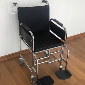 Original Commode Wheelchair Made In Turkey | Medical Supplies & Equipment for sale in Lagos State, Lagos Island (Eko)