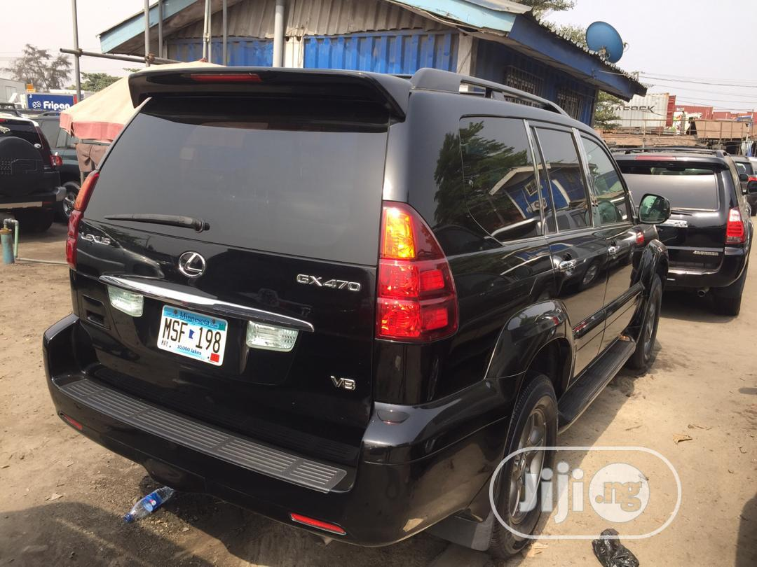 Lexus GX 2007 470 Sport Utility Black | Cars for sale in Amuwo-Odofin, Lagos State, Nigeria