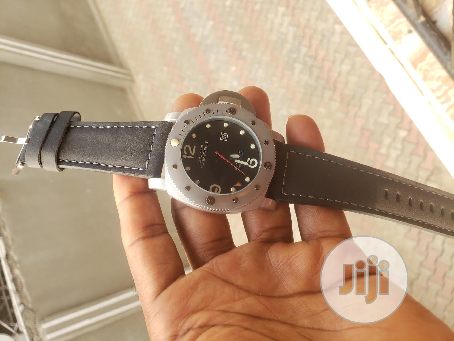 Archive: Panerai Leather Watch for Sale at Lagos