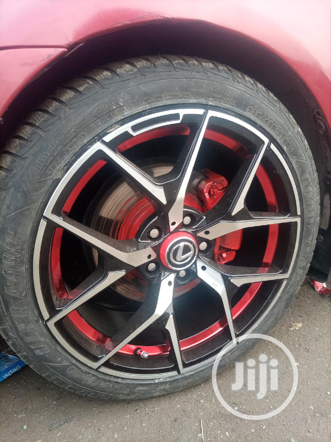 Size 18 and 17 Inches Available Any Carlikebenz Toyota Lexus | Vehicle Parts & Accessories for sale in Mushin, Lagos State, Nigeria