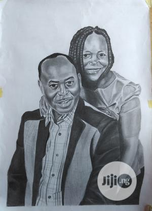 Amazing Pencil Portrait Drawing | Arts & Crafts for sale in Rivers State, Port-Harcourt