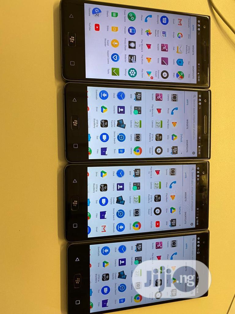 BlackBerry Motion 32 GB Black   Mobile Phones for sale in Ikeja, Lagos State, Nigeria