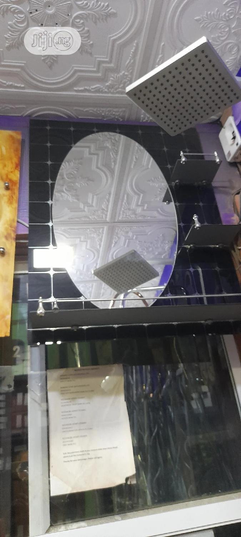 Led Round Sensor Mirror