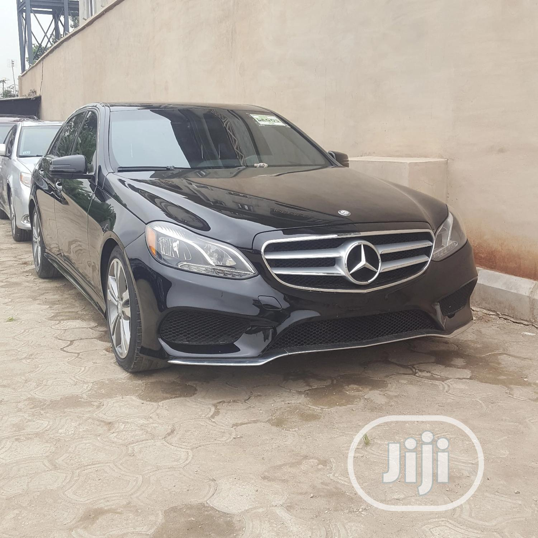 Mercedes-Benz E350 2015 Black   Cars for sale in Kosofe, Lagos State, Nigeria