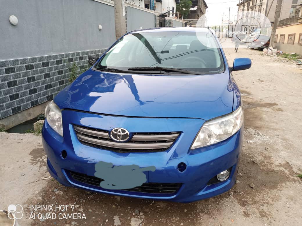 Archive: Toyota Corolla 2008 Blue
