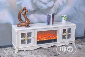Exotic TV Shelve With Fireworks   Furniture for sale in Lagos State, Victoria Island