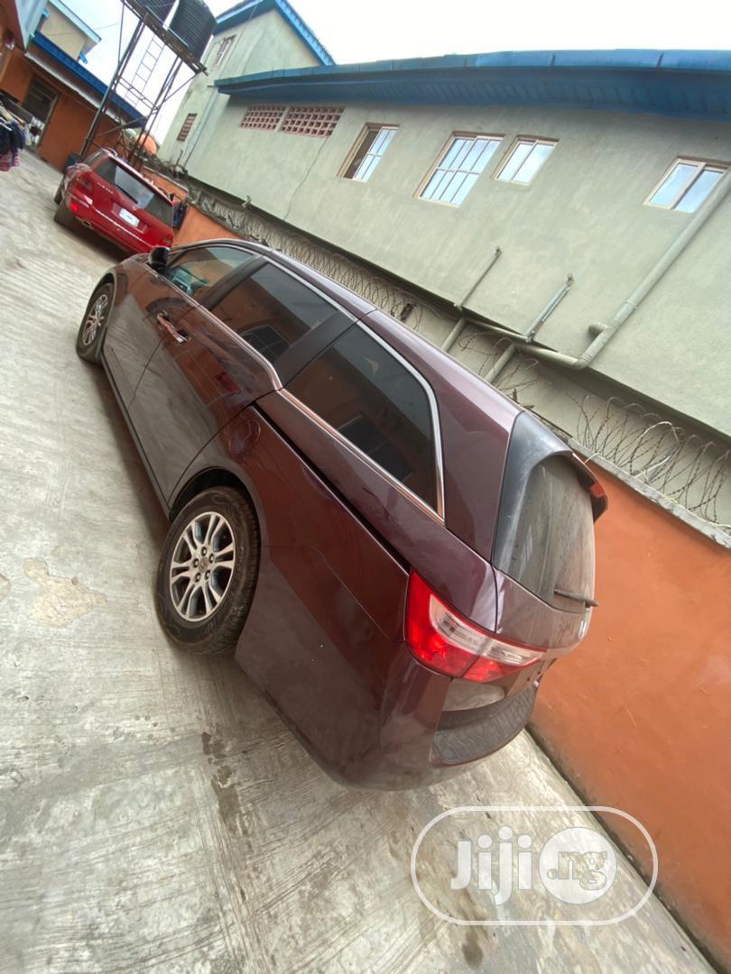 Honda Odyssey 2013 LX Red   Cars for sale in Oshodi, Lagos State, Nigeria