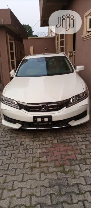 Honda Accord 2014 White   Cars for sale in Lagos State, Gbagada