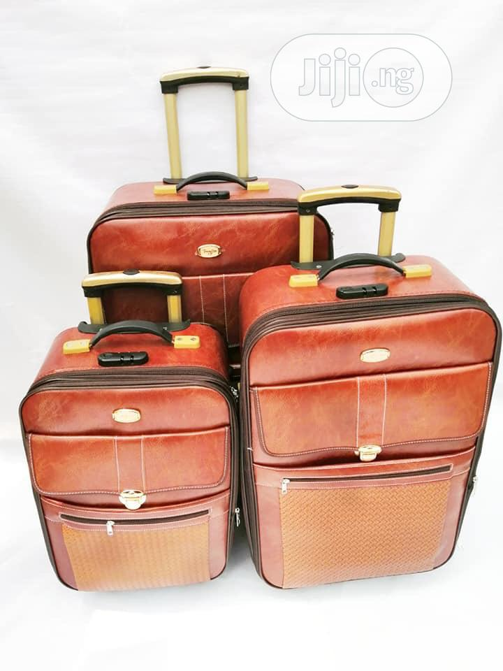 Three Set of Leather Box