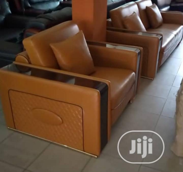 Brown Quality 7 Sofa Chair