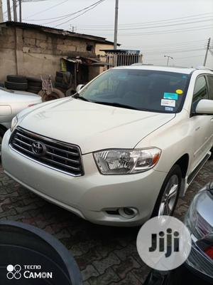 Toyota Highlander 2009 Limited White | Cars for sale in Lagos State, Ikeja