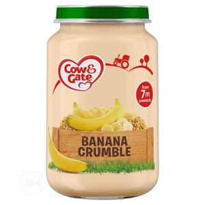 Cow Gate Banana Crumble Jar 200g 200g × 6 × 1 | Meals & Drinks for sale in Kwara State, Ilorin West