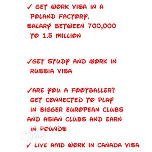 Travel, School and Work Visa for Canada, Russia and Poland   Travel Agents & Tours for sale in Lagos State, Isolo