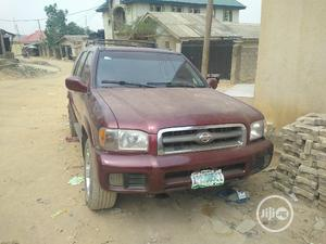 Nissan Pathfinder 2002 LE AWD SUV (3.5L 6cyl 4A) Red   Cars for sale in Lagos State, Ikeja