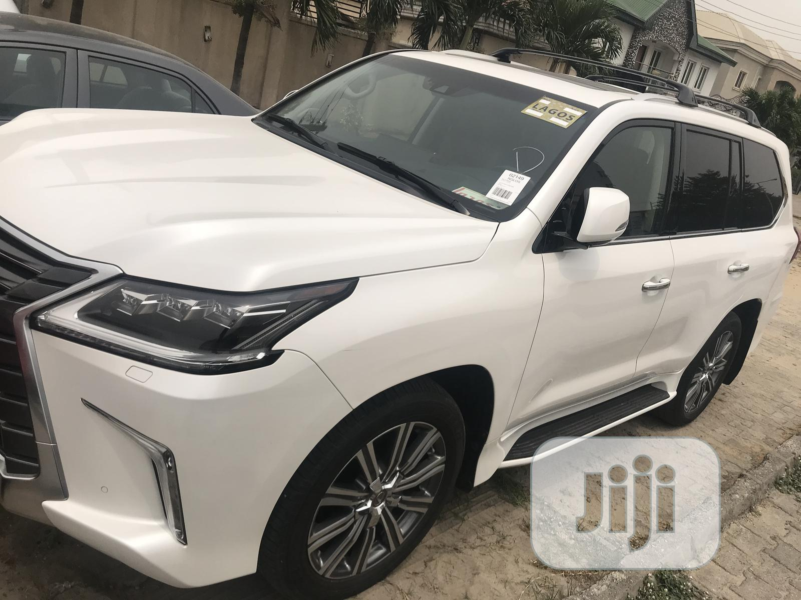 Lexus LX 2017 570 Base White | Cars for sale in Ajah, Lagos State, Nigeria