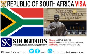 South Africa Visa Processing Services and Visa Applications   Travel Agents & Tours for sale in Lagos State, Lagos Island (Eko)