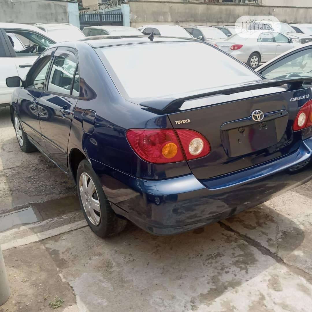 Toyota Corolla 2004 1.4 D Automatic Blue   Cars for sale in Amuwo-Odofin, Lagos State, Nigeria