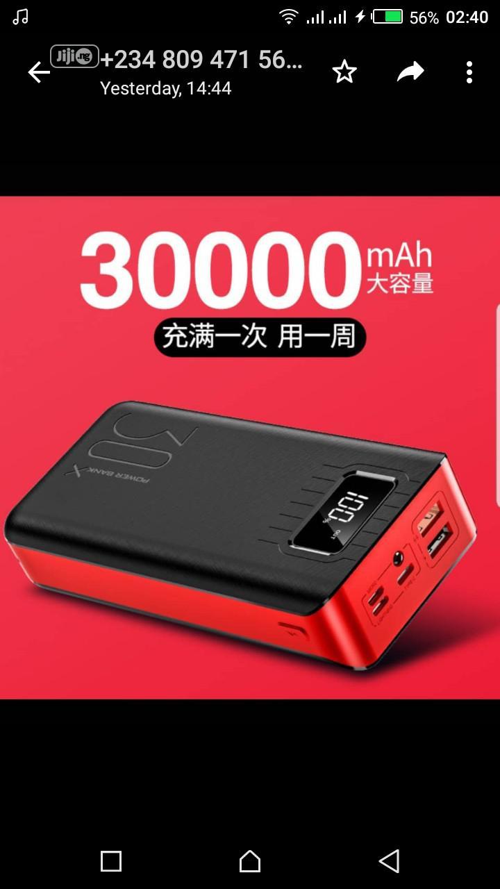 30000 Mah Power Bank