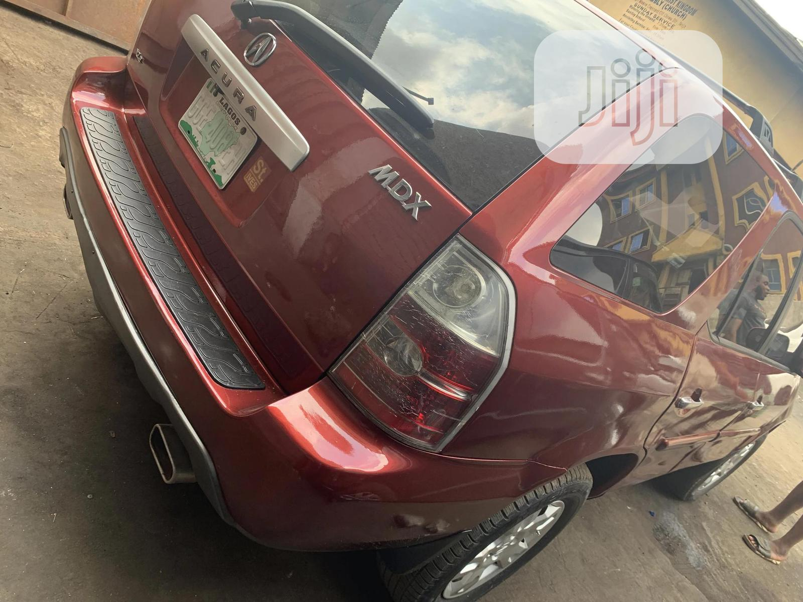 Acura MDX 2004 Red