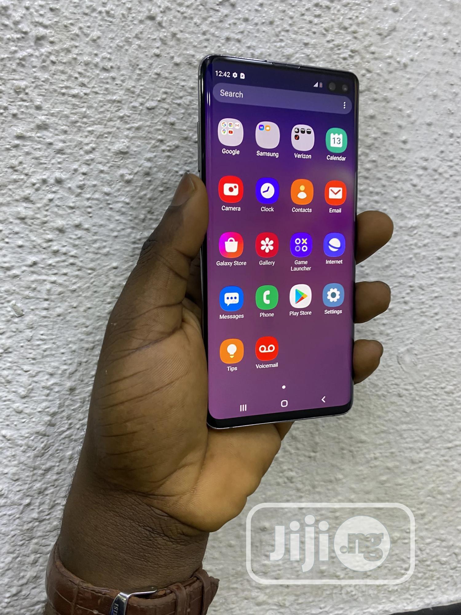 Samsung Galaxy S10 Plus 128 GB Black | Mobile Phones for sale in Ikeja, Lagos State, Nigeria