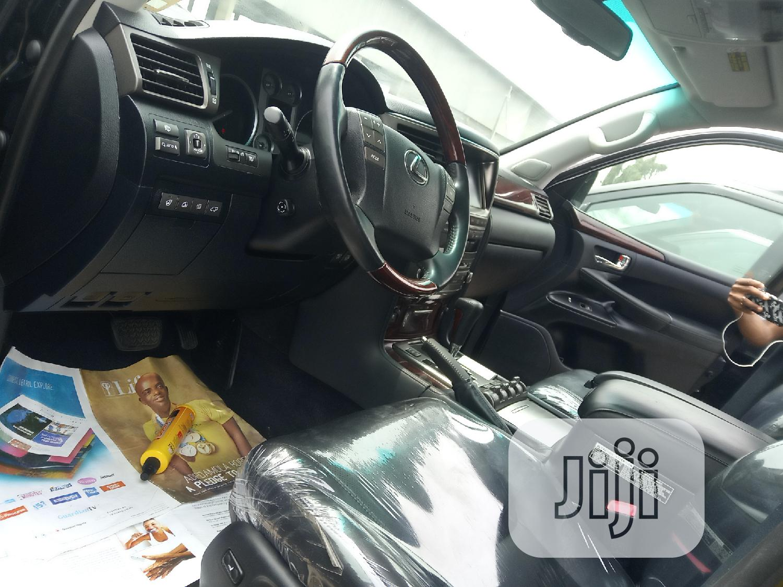 Lexus LX 2012 570 Black   Cars for sale in Apapa, Lagos State, Nigeria