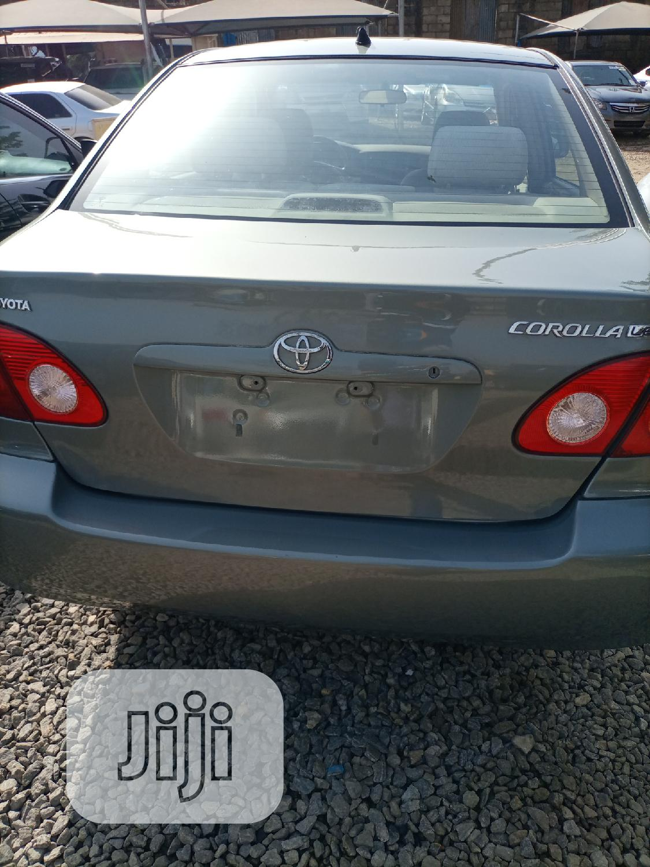 Toyota Corolla 2004 Gray   Cars for sale in Garki 2, Abuja (FCT) State, Nigeria