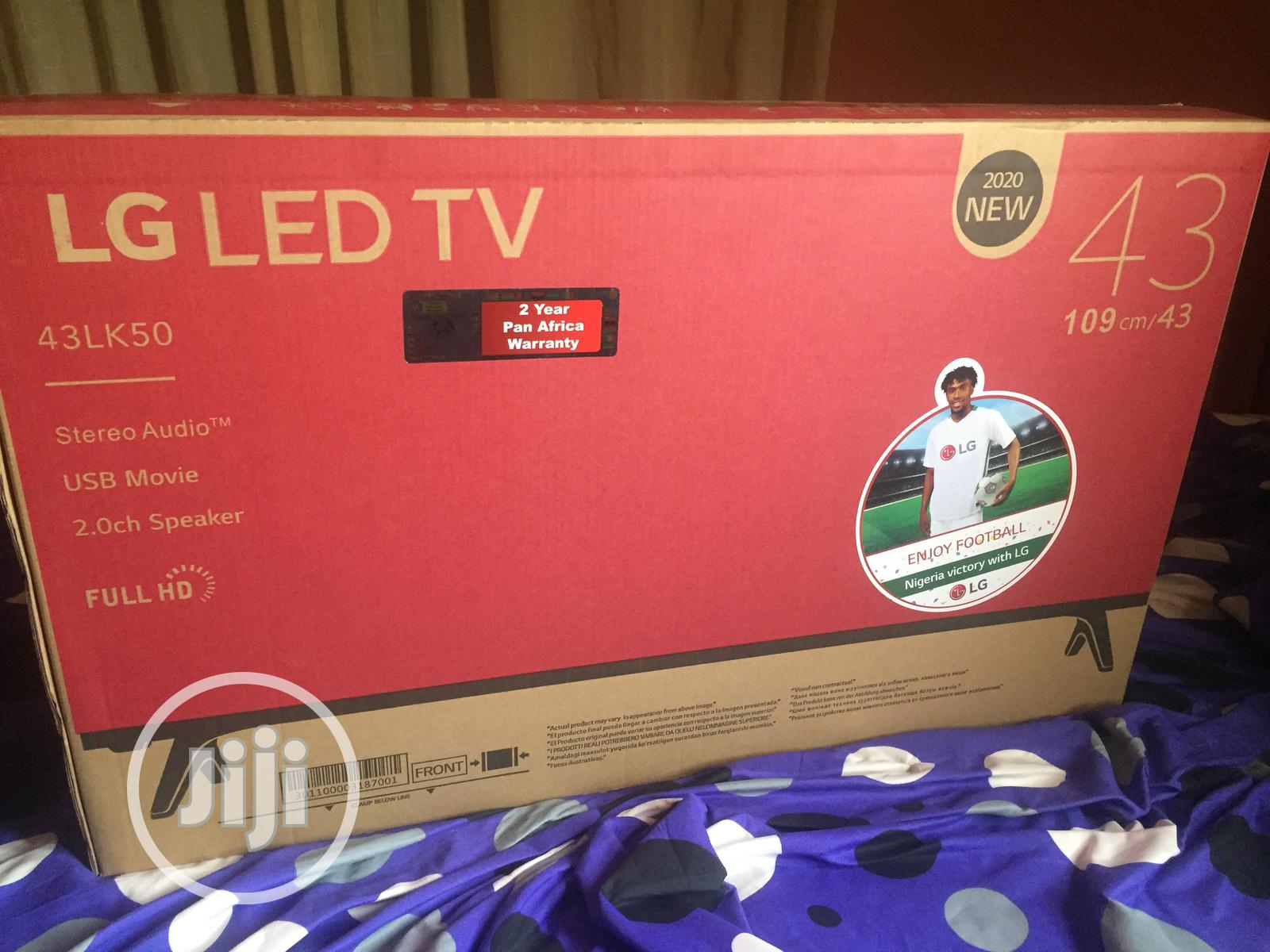 Archive: LG Led Tv 43 Inches Brand New