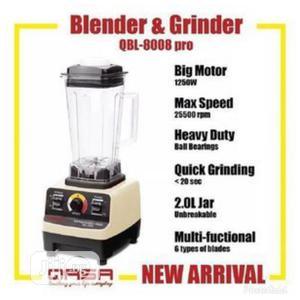 Qasa 2L Electric Commercial Heavy Duty Blender 1500W | Kitchen Appliances for sale in Lagos State, Ifako-Ijaiye