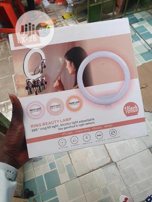 10inch Led Ring Light + 160cm Long Tripod Stand Photography   Accessories & Supplies for Electronics for sale in Lagos State, Ikeja