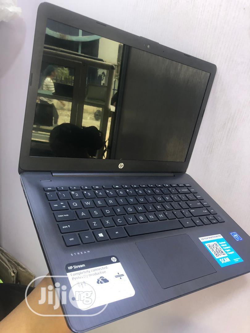 Laptop HP Stream 14 Pro G3 4GB Intel SSD 60GB | Laptops & Computers for sale in Ikeja, Lagos State, Nigeria