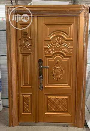 Quality German Pure Copper Security Door-4ft | Doors for sale in Lagos State, Orile