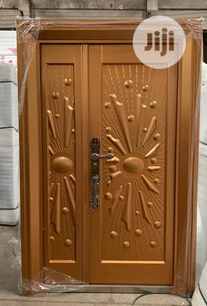 Quality German Copper Security Door-4ft | Doors for sale in Lagos State, Orile