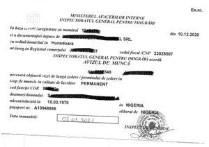 Romania Work Permit Visa   Travel Agents & Tours for sale in Lagos State, Ikeja